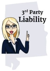 Alabama 3rd party liability