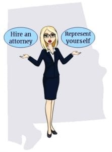 Alabama attorney self representation
