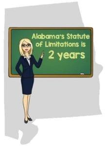 Alabama statute limitations