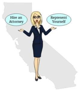 California hire an attorney