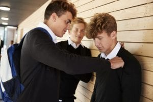 teenage boy bullied at school