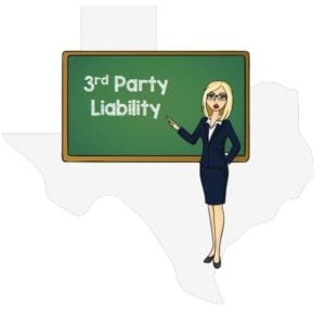 Texas 3rd party liability