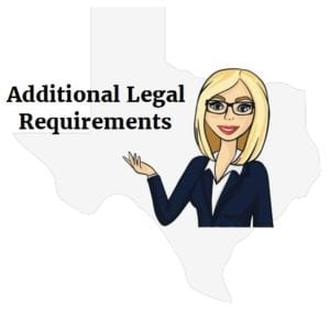 Texas accident legal requirements