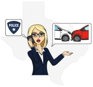 Texas report accident