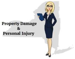 New York property damage personal injury