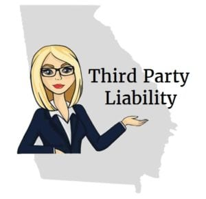 Georgia third party liability