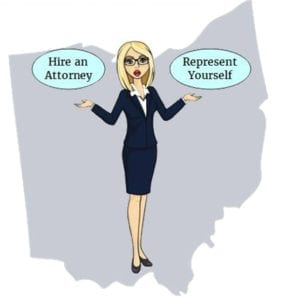 ohio attorney self representation
