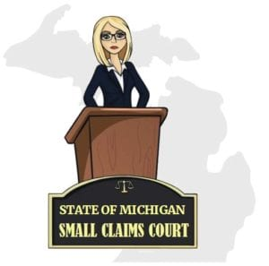 Michigan small claims court