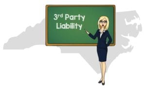 North Carolina 3rd party liability