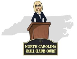 North Carolina small claims court