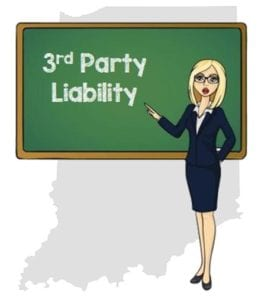Indiana 3rd party liability