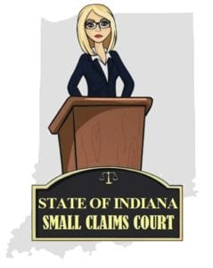 Indiana small claims court