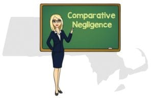 Massachusetts comparative negligence