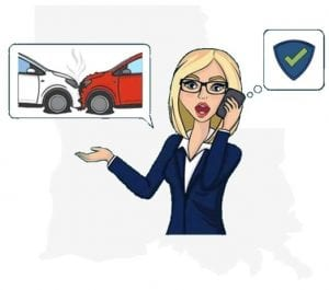 Louisiana accident notify insurance