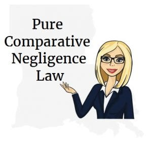 Louisiana pure comparative negligence