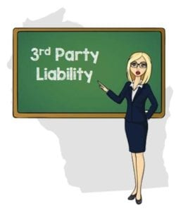 Wisconsin 3rd party liability