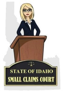 Idaho small claims court