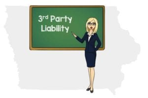 Iowa 3rd party liability