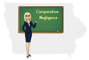 Iowa comparative negligence