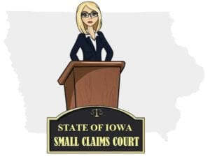 Iowa small claims court