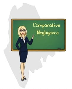 Maine comparative negligence