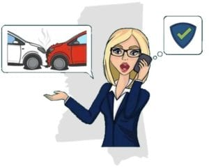 Mississippi accident call insurance