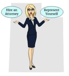 Utah hire attorney self represent