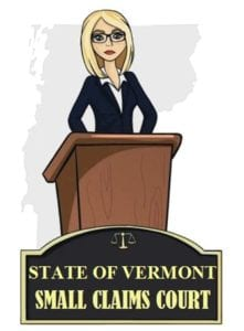 Vermont small claims court