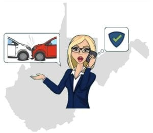 West Virginia accident call insurance