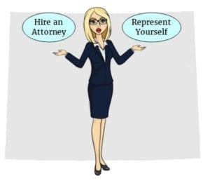 Wyoming hire attorney self represent