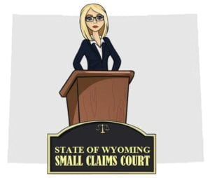 Wyoming small claims court