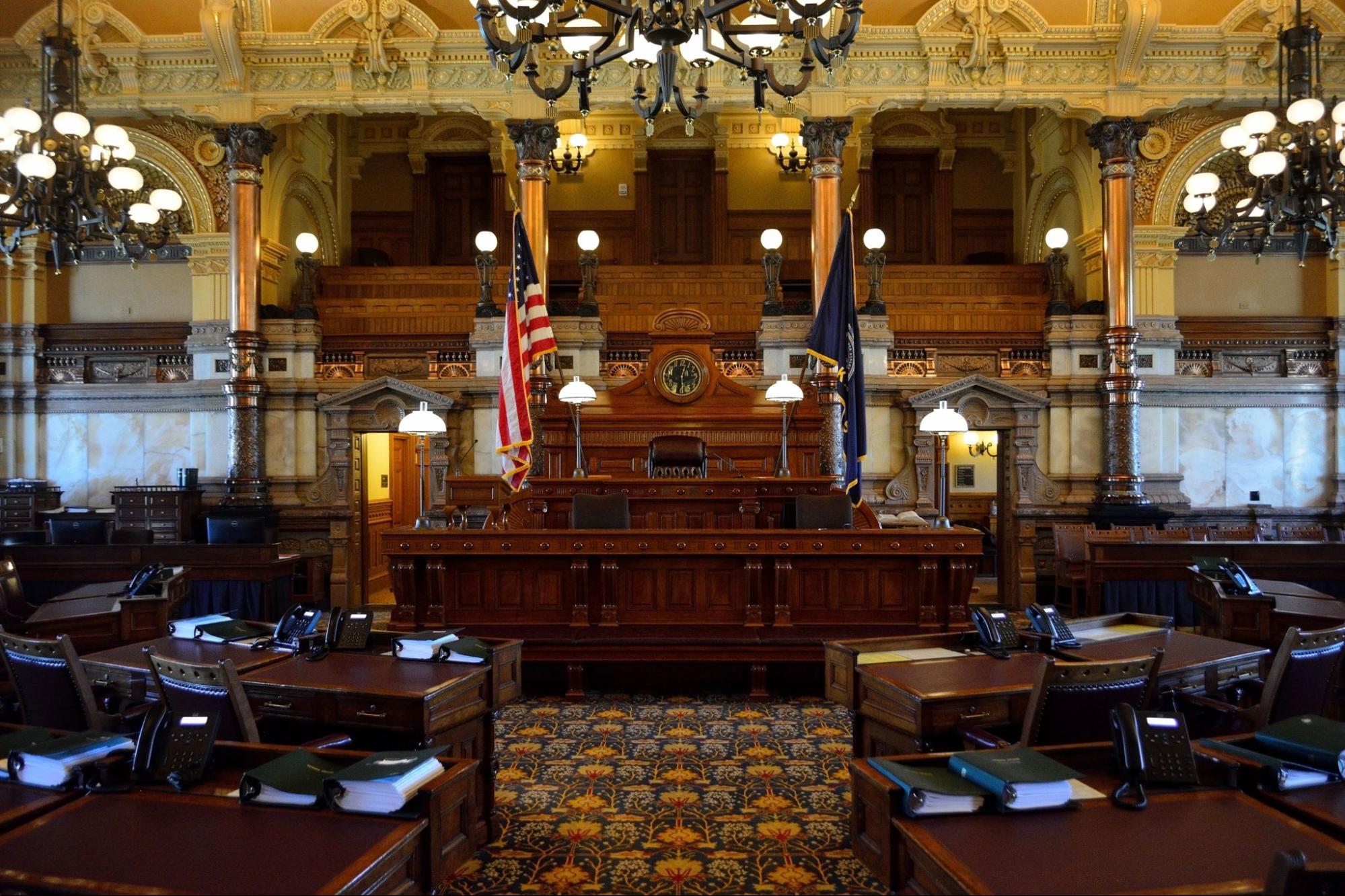 Kansas State Capitol Senate Chambers